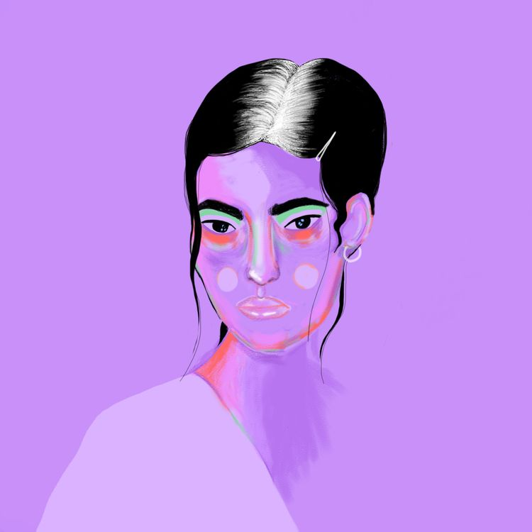 illustration, portrait - ievarag1 | ello