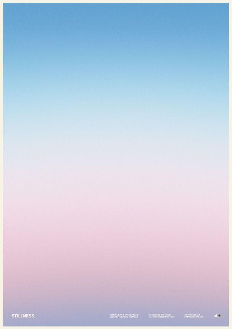 Stillness - poster, posterdesign - madleif | ello