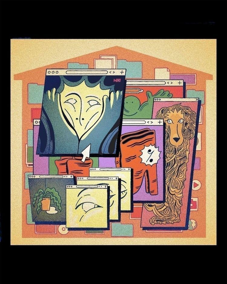 House 8 windows - quarantine - jingology | ello