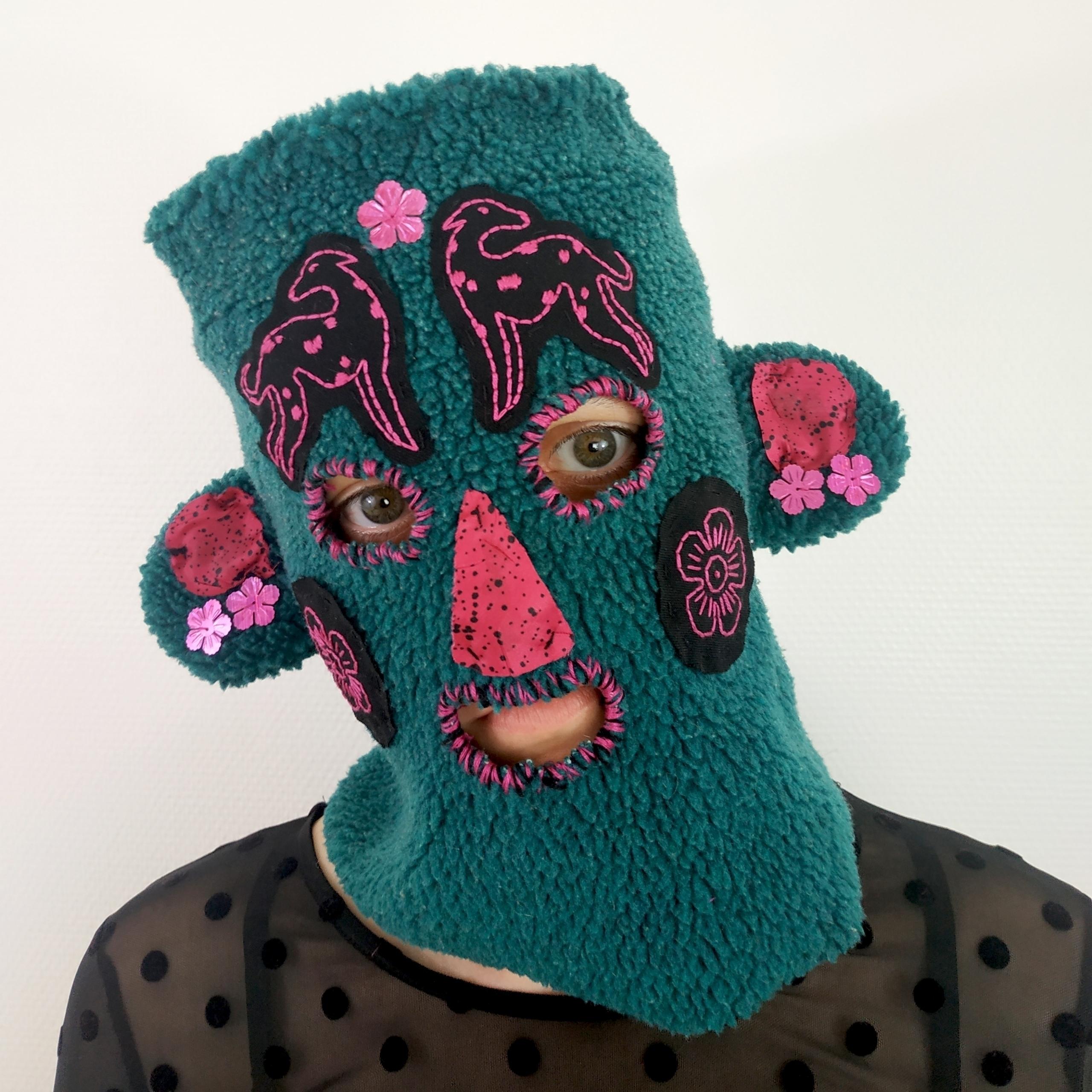 Mask, 2020 hanemone - embroidery - harmonieaupetit | ello