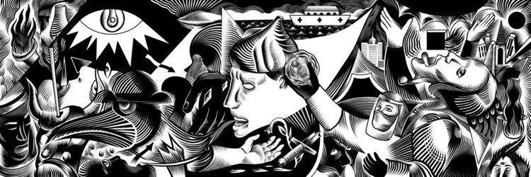 interpretation Guernica 2020 - tomo77 | ello
