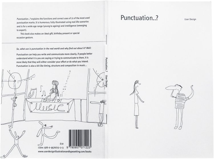 Punctuation..? book (cartoon il - userdesignillustrationandtypesetting | ello
