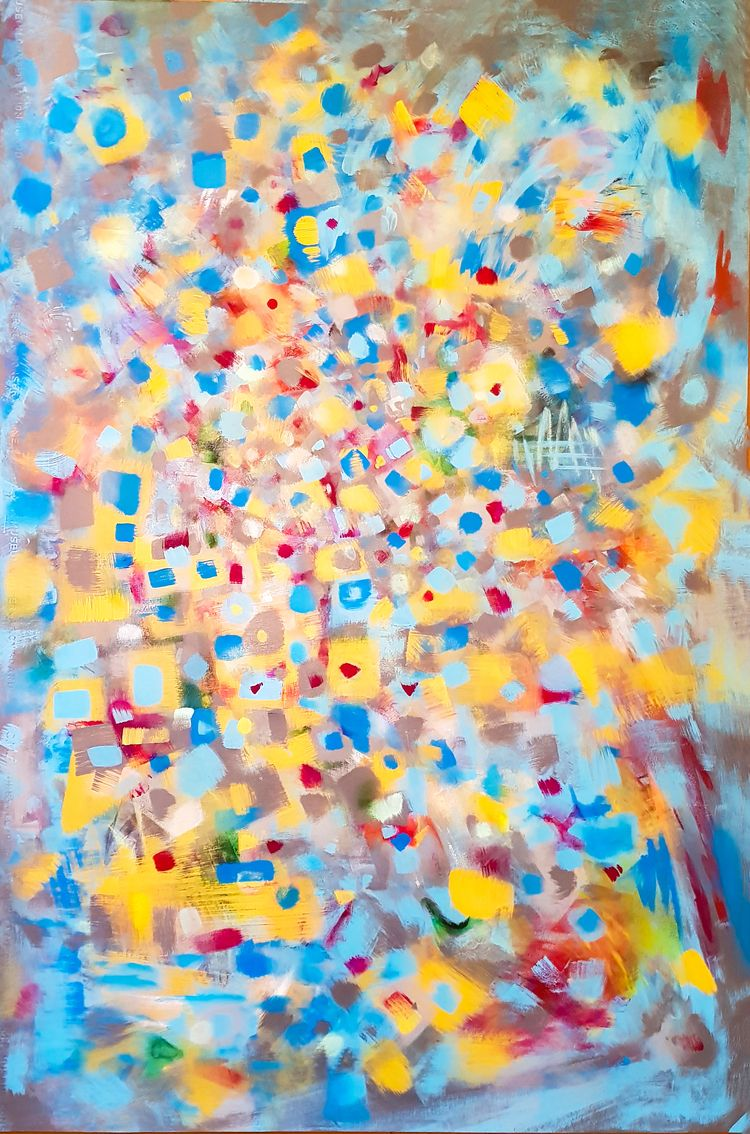 abstractexpressionism, topnewartist - fushion | ello