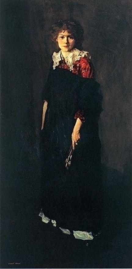 Robert Henri York 1865 1929. Po - andrezomerwandeling   ello