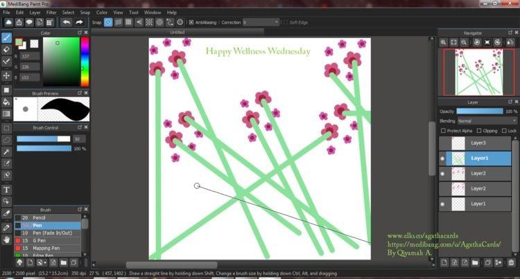 happy Wednesday! digital worksp - agathacards | ello