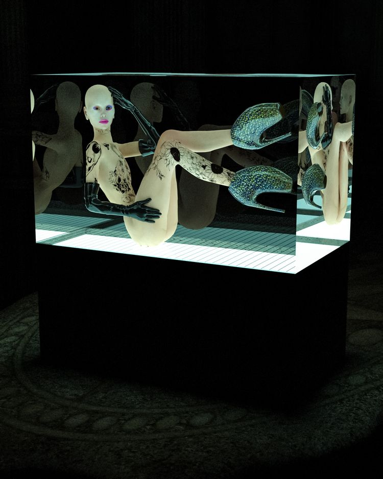 Snake Tank - Art, 3Dart, Cinema4D - mathudesign | ello