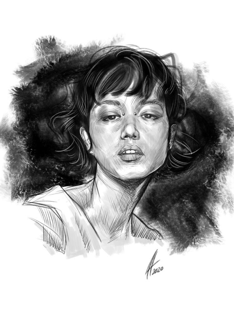 Evening sketch - jhherrera | ello