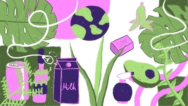 drew final project waste - environment - artfiqah | ello