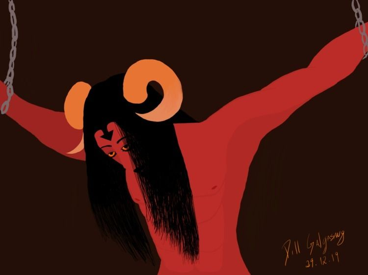 Lucifer, protagonists story man - galg_d | ello