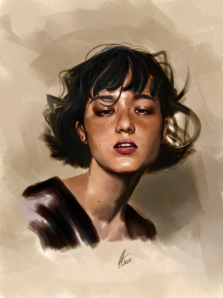 Sort finished - illustration, portraits - jhherrera | ello