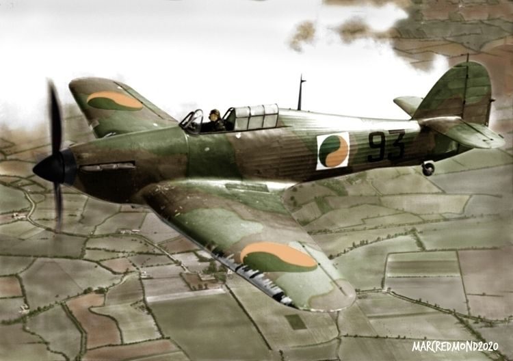 Colourising History - Hawker Hu - marcredmond | ello
