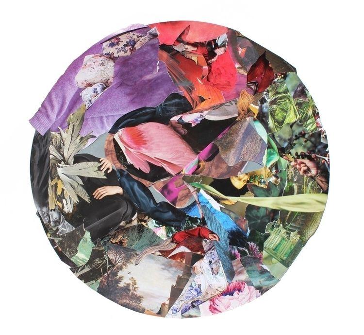 Untitled II (circle series - collage - ninafraser | ello