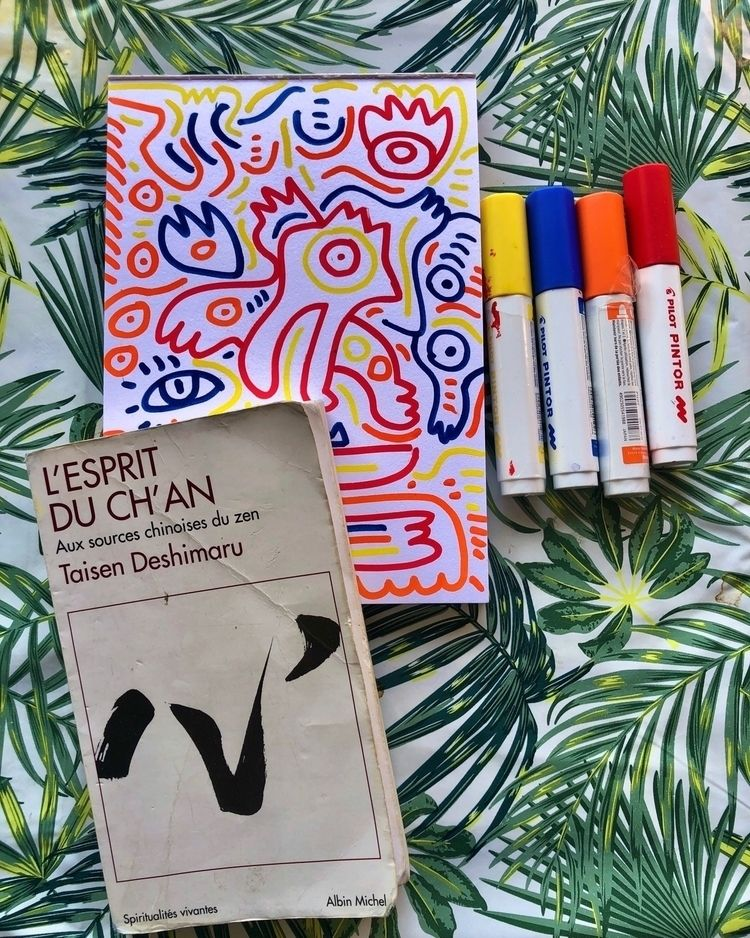 Sketching morning good book - sketch - signorino | ello