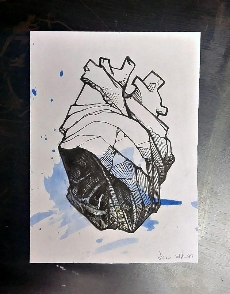 Hope current situation - art, sketch - oliver-witness | ello