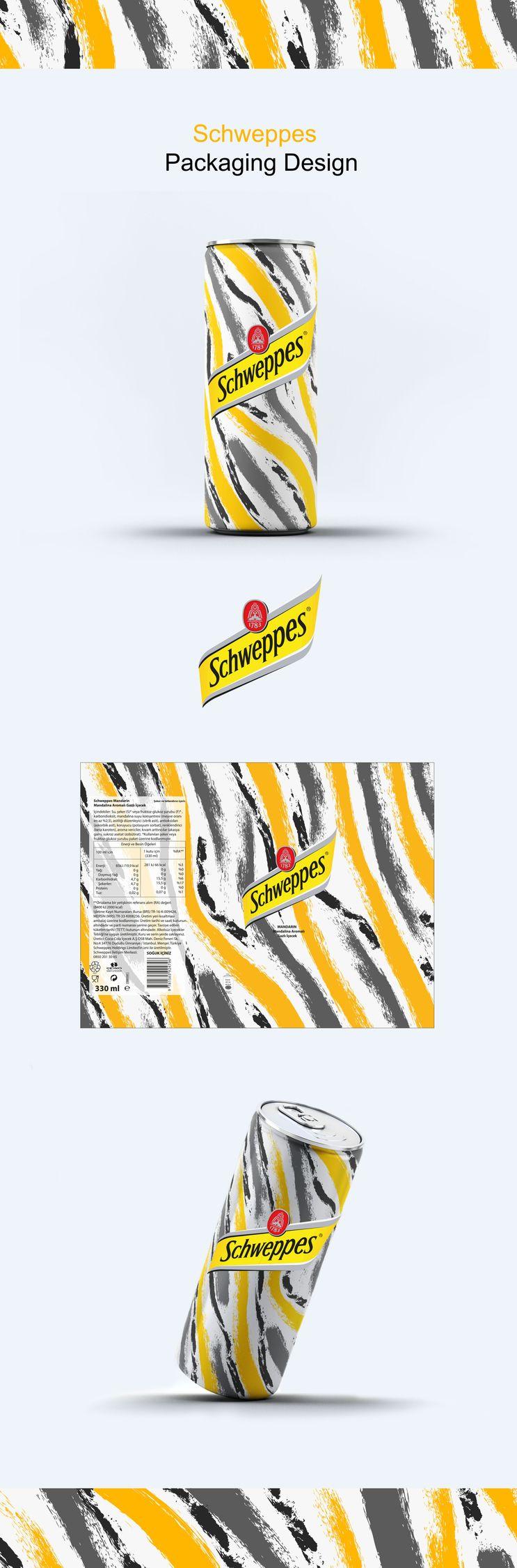 Schweppes Packaging Design - rabiaulutas | ello