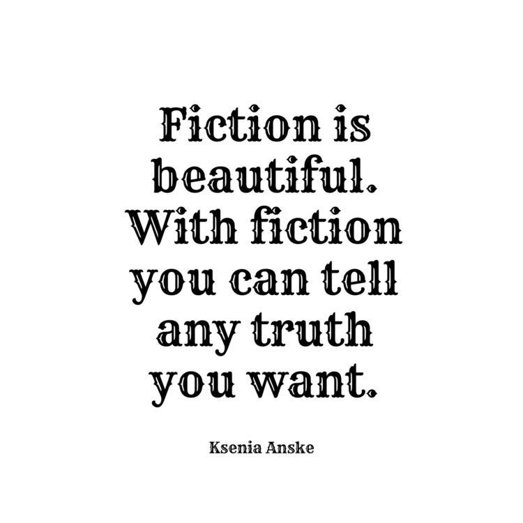write fiction, wrong. yell dumb - kseniaanske | ello