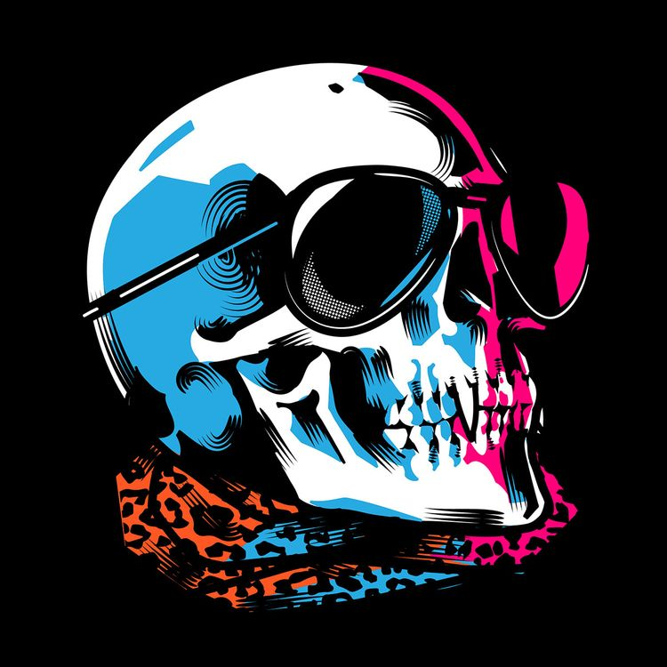 Neon Death - podridosarmy, vectorart - manuelcetina | ello