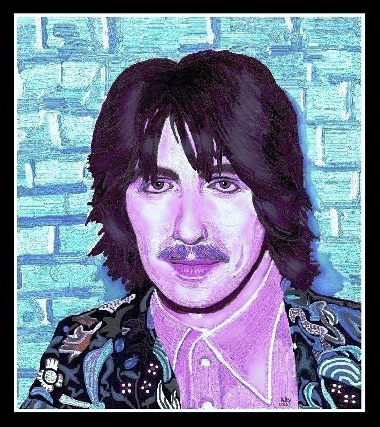 George Harrison - Digital Oil P - rjayslais | ello