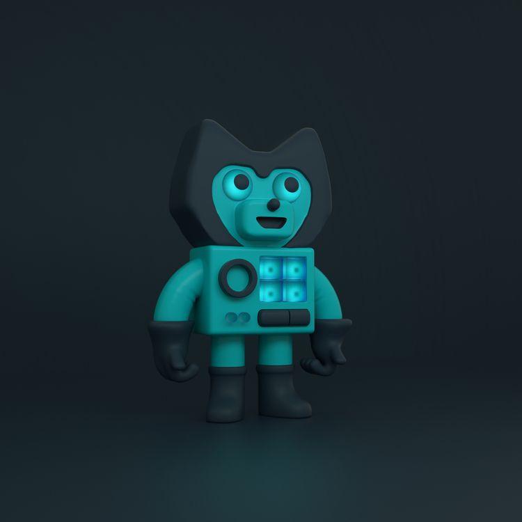 Vegan Robot, fan art character  - alexistapia | ello
