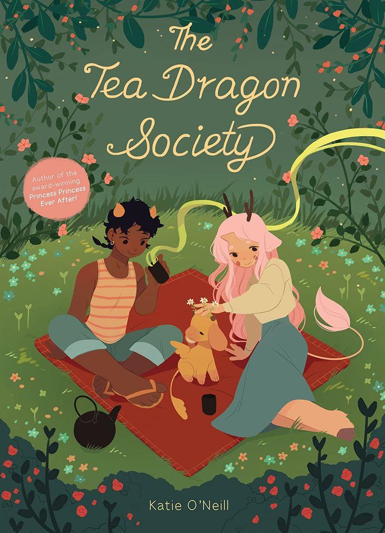 Tea Dragon Society Review book  - comicbuzz | ello