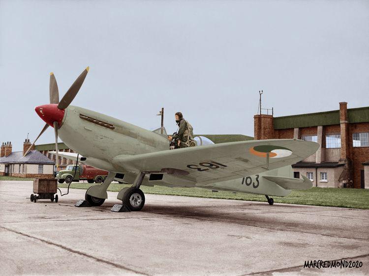 Colourising History - Spitfire  - marcredmond | ello