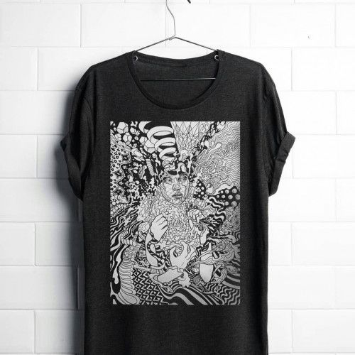 Ego Death - Black Tshirt (2017 - lukegrayart | ello