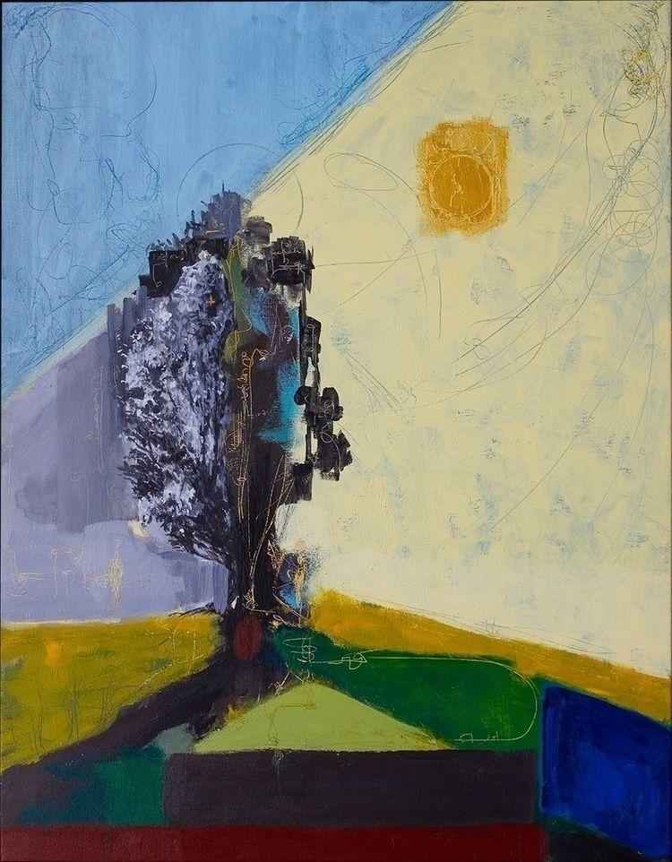 tree Acrylic canvas, 65 50 cm 2 - gonzalogolpe | ello