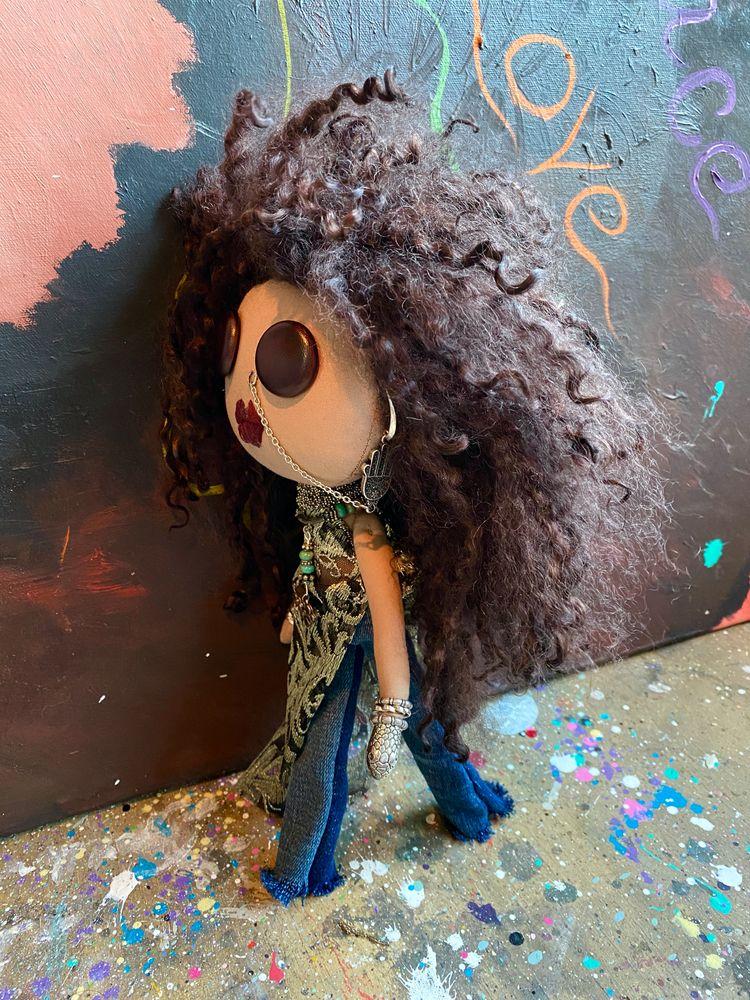 Erykah Badu Inspired Art Doll - art - cherfru   ello
