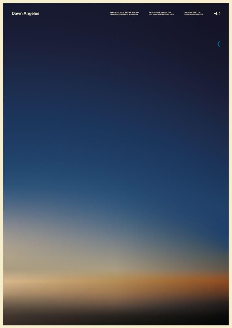 Dawn Angeles - poster, posterdesign - madleif   ello
