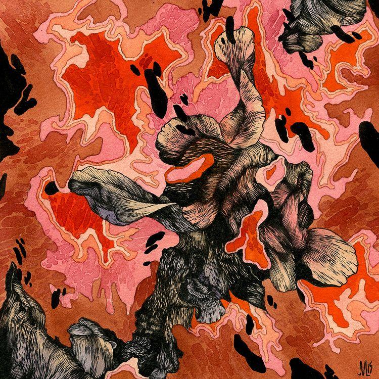 Meat drawings Watercolor, ink,  - jacobvanloon | ello