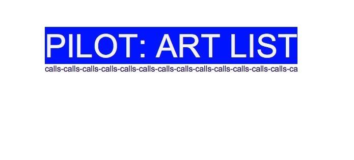 LONGEST art list season coming - nathaliequagliotto | ello