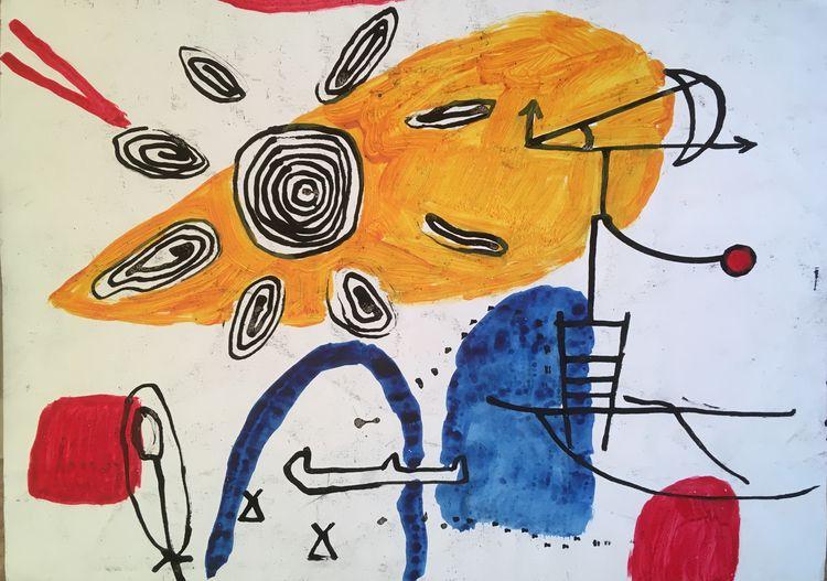 Acryl ink paper - miccaman | ello