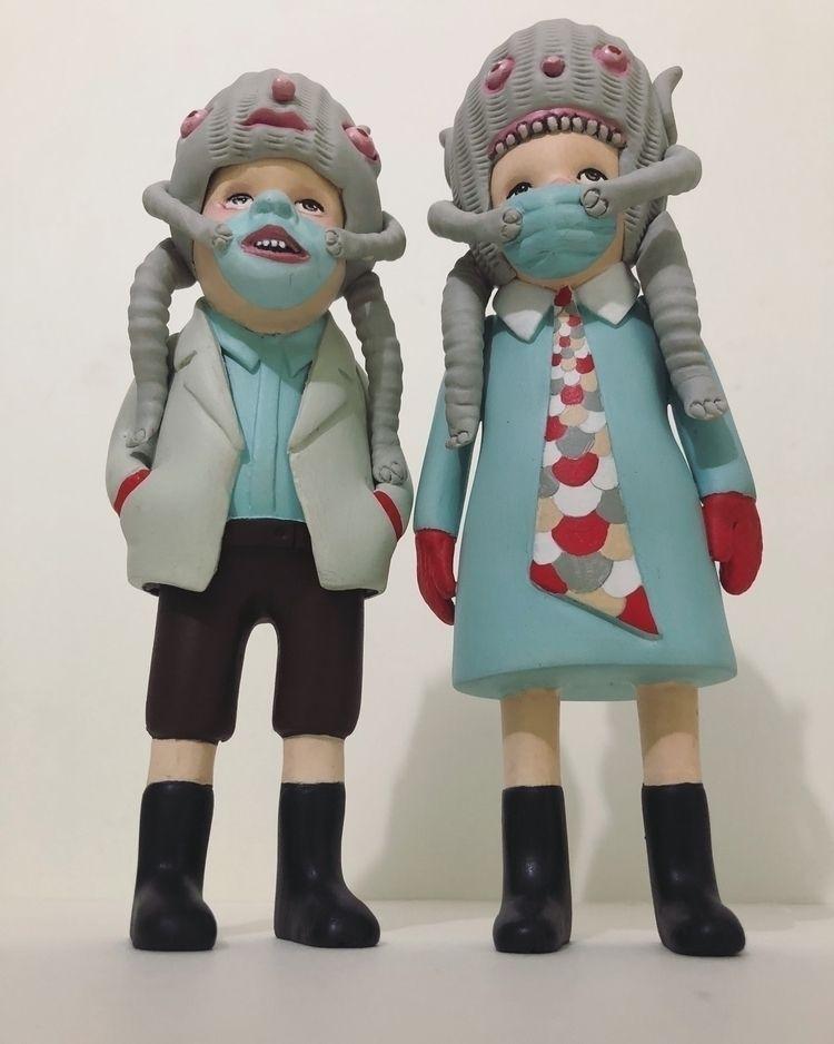 Masked Kiddos - doubleparlour   ello