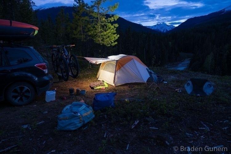 backyard night - carcamping - bradengunem   ello