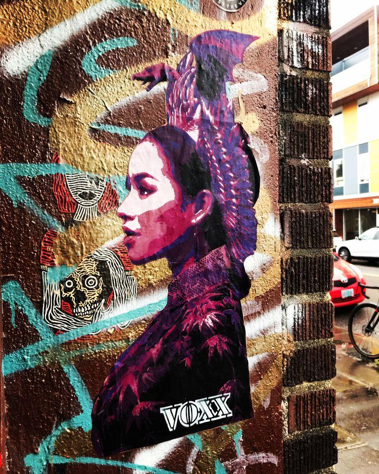 Portland street art 2020 - portlandstreetart - voxxromana | ello