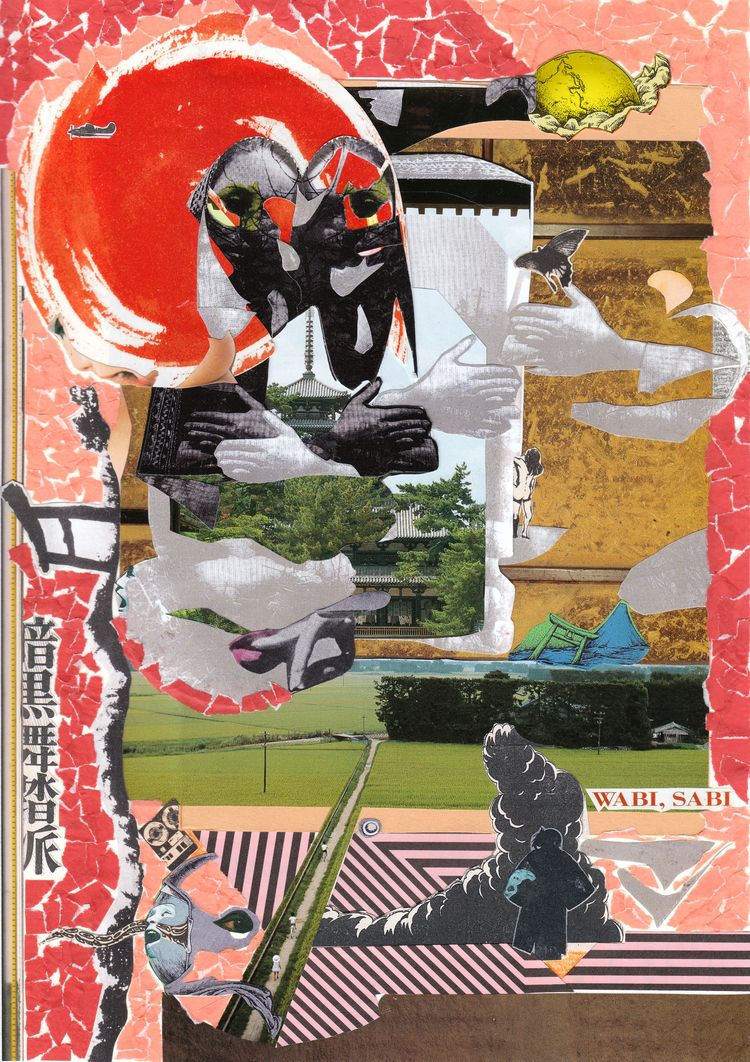 nostalgia 9 handmade collage +  - tsun-zaku | ello