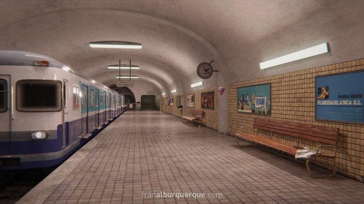 scene inspired Late 70s metro s - membriskhan | ello