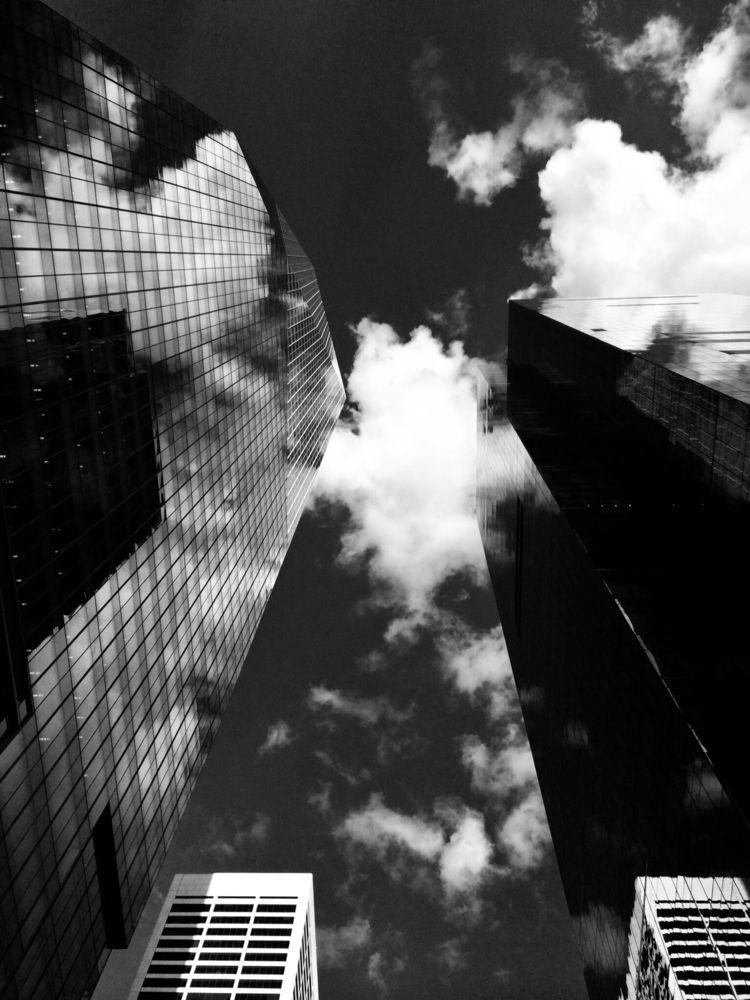 Manhattan Cloudy Sky - visualnarphilia | ello