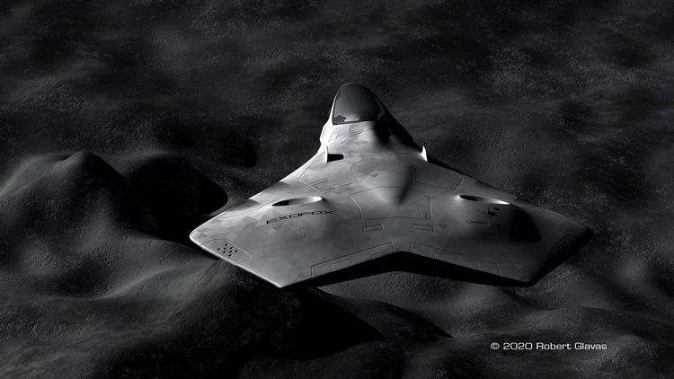 EXOFOX | - spacecraft, mecha, concept - rglavas | ello