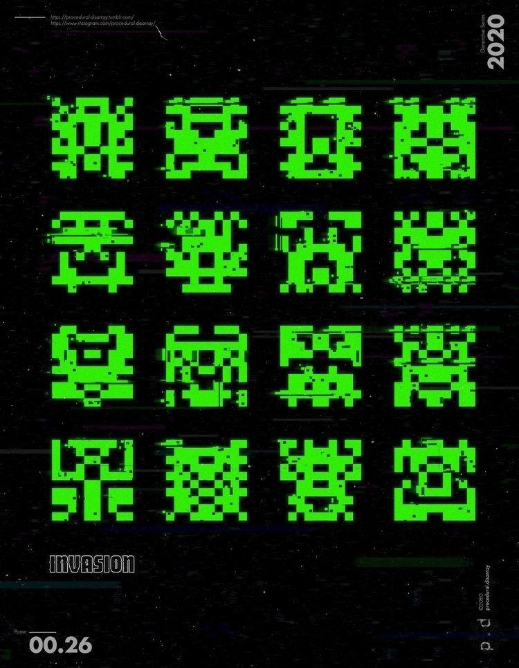 > 00.00.26 || INVASION - poster - procedural-disarray | ello