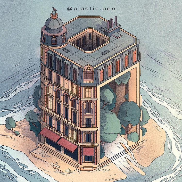 Isometric houses – part 8 / Hau - _s__g__h_ | ello