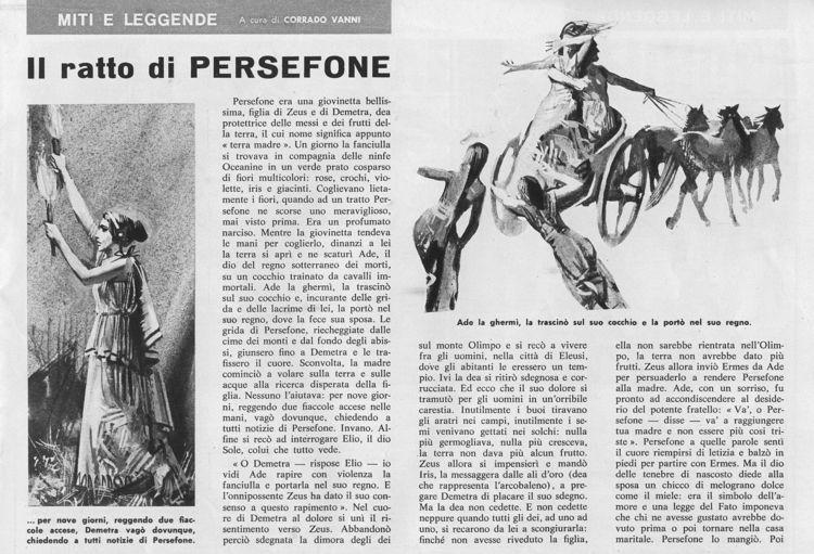 Il ratto di Persefone (di Vanni - corrierino | ello