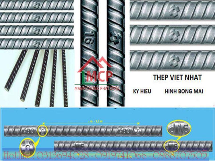Bảng báo giá thép Việt Nhật rẻ  - vlxdmanhcuongphat | ello