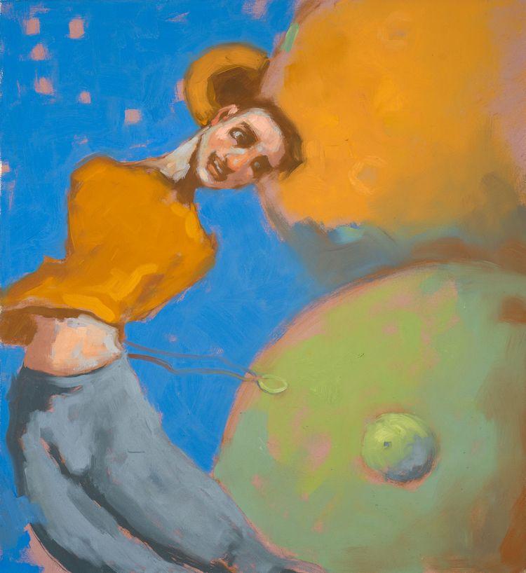 Gods IV - series paintings expl - aldocherres   ello