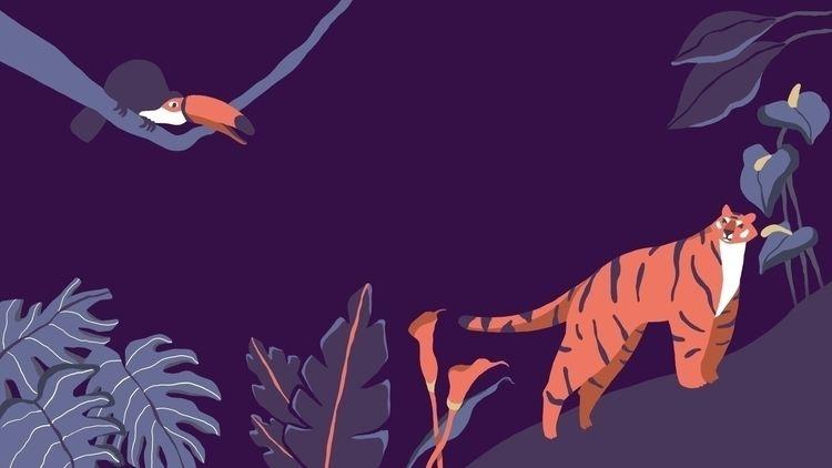 Ello World! post ! illustration - jandastudio | ello