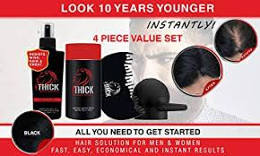 Thick leading hair fiber brand  - lookthick | ello
