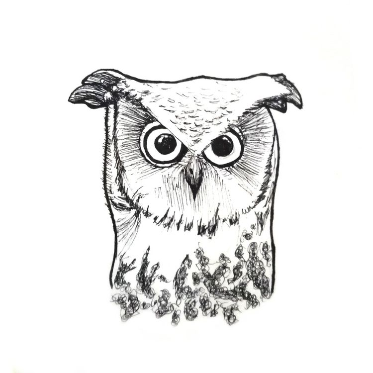Owl - sritamaclo | ello