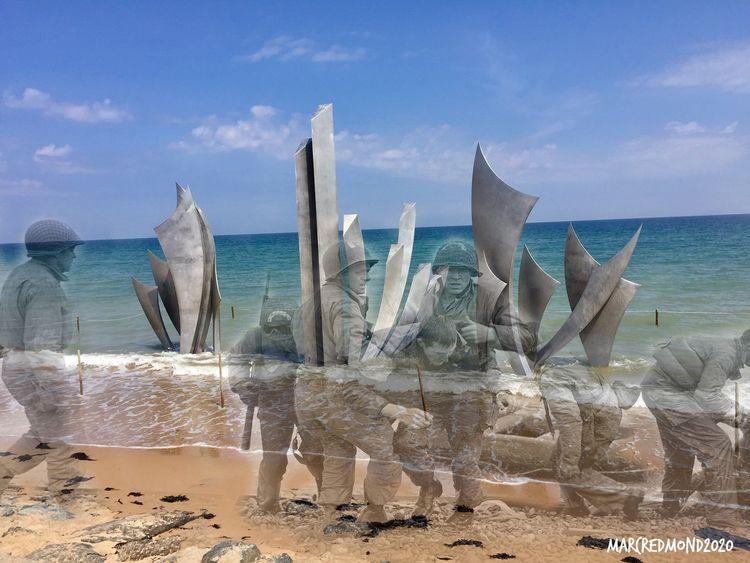 Ghosts War - Beach Normandy 194 - marcredmond | ello
