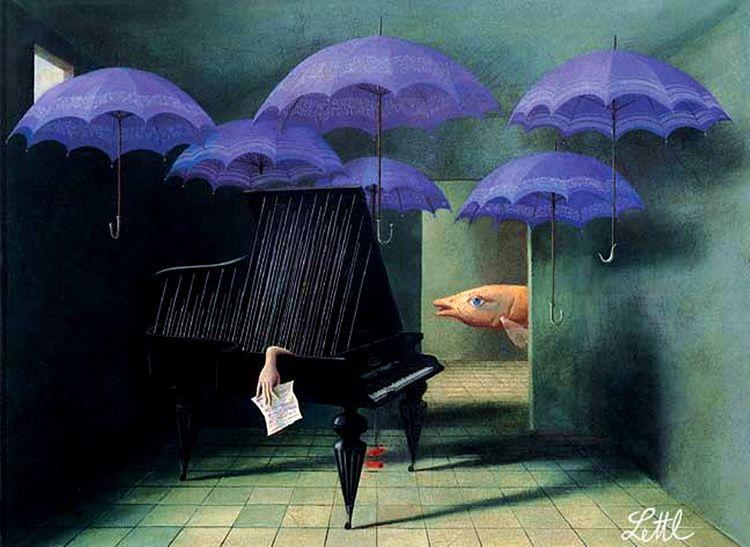 Great Rain, Wolfgang Lettl, 197 - zorrojacques   ello