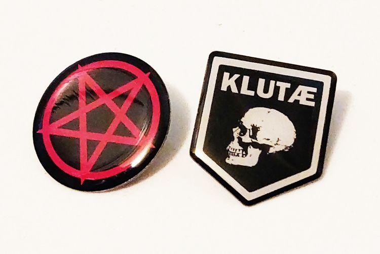 Klutae metal enamel Pins arrive - leaether_strip_official | ello